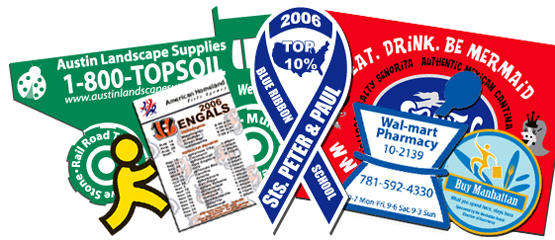 Contact one of our friendly custom magnet sales representatives today for more information